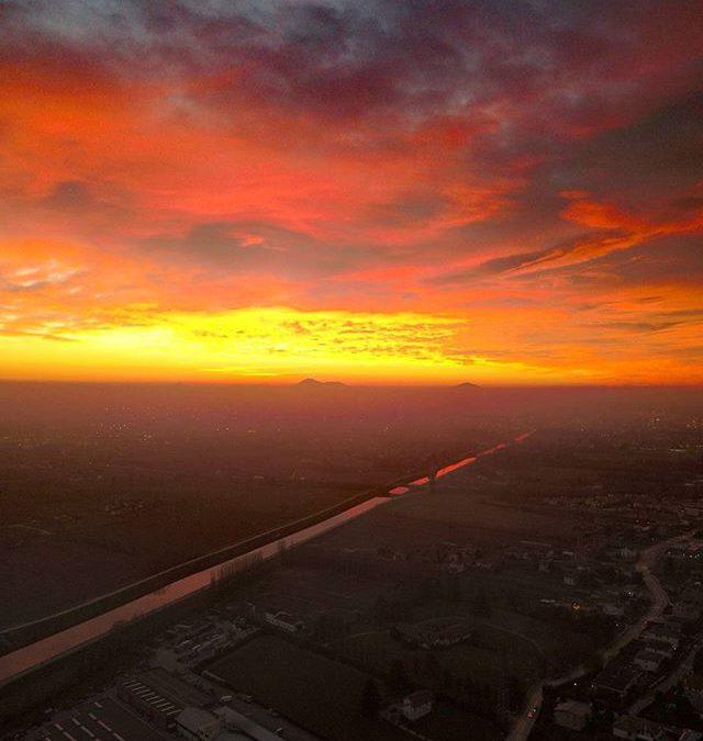 #inverno #tramonto #winter #sunset