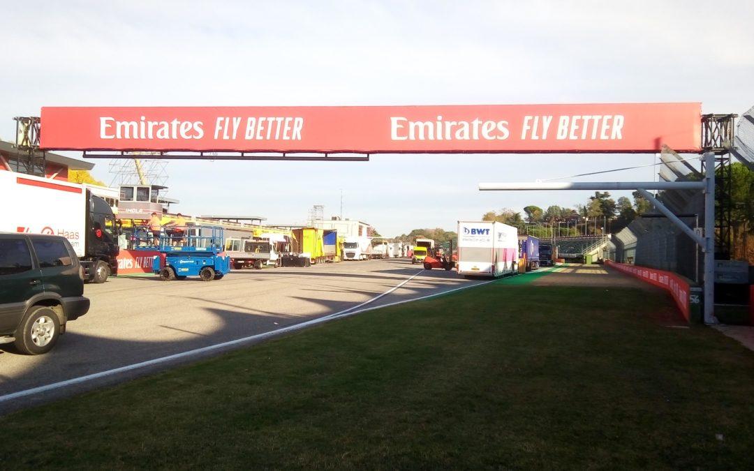 IMOLA F1 2020