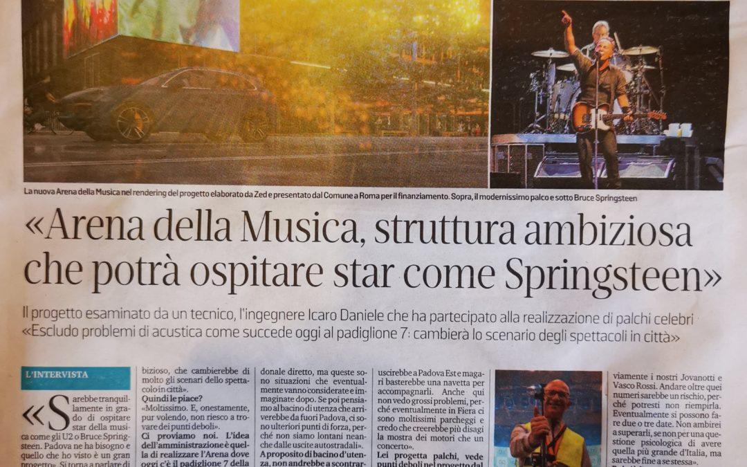 Progetto Arena della Musica – Padova